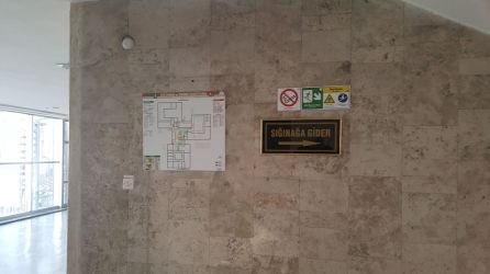 ISO 23601 Acil Durum ve Yangın Tahliye Planları Ankara Milli Eğitim Bakanlığı Binası Uygulama Örnekleri