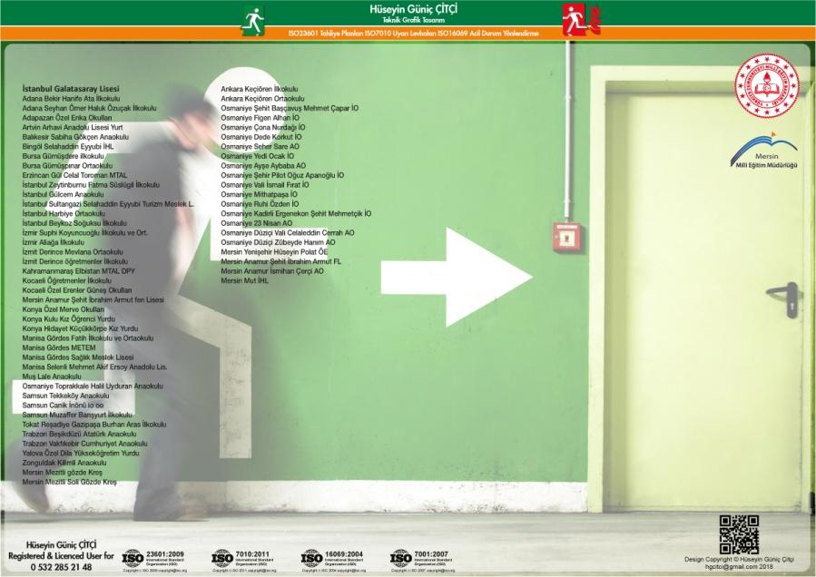 ISO 23601 Acil Durum Ve Yangın Tahliye Planları Referanslar